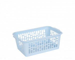 Plastic Handy Basket Cool Blue