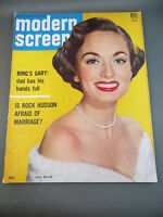 1954 August MODERN SCREEN Movie Magazine Full Issue ANN BLYTH Cover