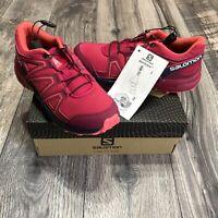 Salomon Speedcross J Trail-Running Shoes Kids Size 2 New With Box