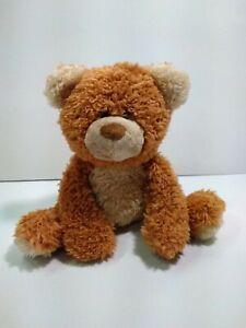 """Gund Raisin Plush Brown and Tan Teddy Bear 4046288 Bean Bag 9"""""""