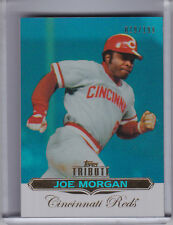 2011 TOPPS TRIBUTE #81 JOE MORGAN BLUE REFRACTOR CINCINNATI REDS HOF 19/199