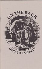 GERALD LOCKLIN ON THE RACK 1988 POETRY COLLECTION 1ST EDITION ***