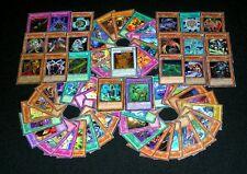 25 YUGIOH FOIL HOLO RARE CARDS + 50 SILVER LETTER RARE CARDS - ALL FOILS & RARES