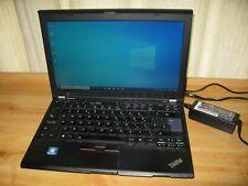 "Lenovo X220 Core i5-2520M/4GB RAM/500GB HDD 12.5"" webcam laptop / READ!!!"
