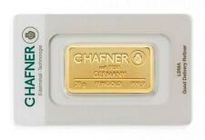 20 Gramm Goldbarren - C.Hafner - Gold 999,9 Feingold Barren