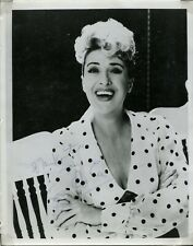 GYPSY ROSE LEE Hand Signed Photo with Letter Burlesque American Entertainer 1966