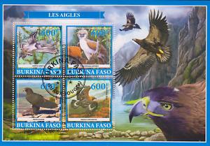 Bird Burkina Faso 2019 Postmarked 2932