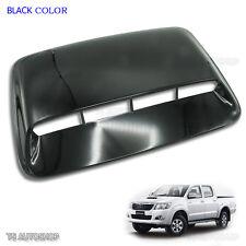 12 13 14 Black Scoop Turbo Bonnet Cover For Toyota Hilux Vigo Champ Mk7 UTE 4WD