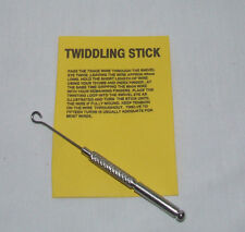 Twiddling Stick  for Trace Wire   -  Pike  Coarse Fsihing