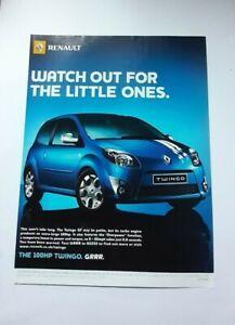 Renault Twingo GT Advert from 2007 - Original Ad Advertisement