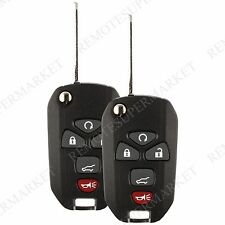 2 Replacement for GMC Acadia Savana Sierra Yukon XL Remote Flip Key Fob 5b Suv