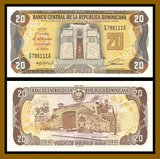 Dominican Republic 20 Pesos Oro, 1992 P-139 About Uncirculated (Au)