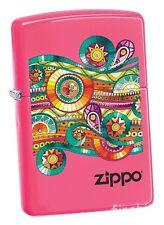 ZENTANGLE Neon Pink ZIPPO Collection 2017 neu+ovp