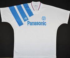 1991-1992 Olympique Marseille Adidas Home Football Shirt (Taille XL)