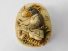 "Harmony Kingdom ""Murphy"" Penguin Pin Royal Watch"