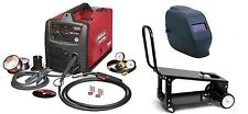 Lincoln Electric U2688-3HC SP-140T MIG Welder with ADF Helmet and K2275-3 cart