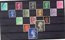 Gran Bretaña Monarquias Valores del año 1970-80 (DE-264)