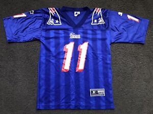 Vintage MINT Drew Bledsoe New England Patriots STARTER Jersey YOUTH M (10-12)