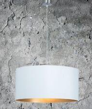 Hängelampe Hochwertige Hängeleuchte Wohnzimmer Esszimmer Weiß Gold Ø 55cm 2XE27