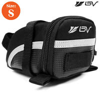 BV Bicycle Small Seat Saddle Bag Bike Saddle Rear Pouch Tail NEW BV-SB1-S