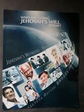 New listing Who Are Doing Jehovah'S Will Today? Brochure WatchTower Bible & Tract New