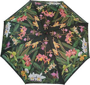 """Artbrollies """"ORCHIDS""""  Manual Open Close Folding Umbrella"""