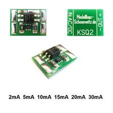 Miniatur Konstantstromquelle 2 5 10 15 20 30 mA für LED 4-24V an AC/DC KSQ2