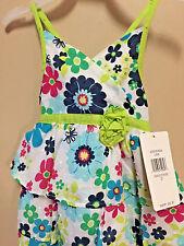 Penelope Mack SZ 2T Dress TODDLER Girls Floral MULTI-COLOR  Cotton NEW W/TAG