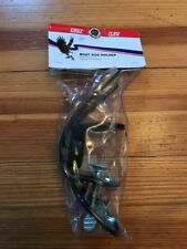 "Single Eagle Claw Boat Rod Holder-1-3'4"" Clamp Blk 04100-001 brand new in pack"