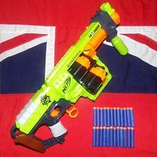 Nerf Zombie Strike Doominator Pump Action Blaster Gun - 24 Blue Elite Foam Darts