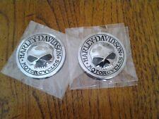 """Two  2"""" Willie G Medallion Emblem (Metal)"""