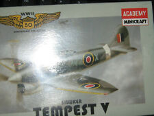 Academy Tempest Fighter Plane for Home Office Decor-Free Shipping-1/144 Scale