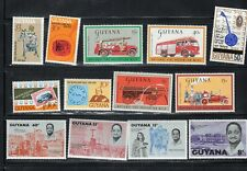GUYANA  SOUTH AMERICA STAMPS MOSTLY  MINT NEVER HINGED   LOT RS19851