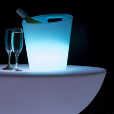 Light Up Colour Changing LED Ice Bucket Drinks Cooler *NOW HALF PRICE*