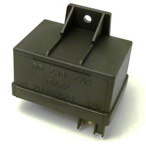 Fiat 500 Grande Punto Panda Bravo Glow Plug Relay 1.3 1.9 JTD 51888255 Genuine