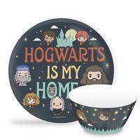 Zak Designs Harry Potter Bowl Plate Kids 2 piece Dinnerware Set