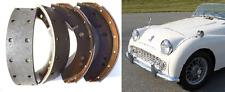 """Triumph TR2 TR3 Avant Ou Arrière (** 10"""" seulement **) Plaquettes de frein Set (** 1953 - 57 **)"""