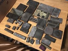 More details for selection of printing blocks 34 blocks