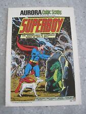 Aurora Comic Scenes SUPERBOY Instruction Booklet 186-140 (V11)