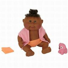 Cabbage Patch Kids Dirty to Clean Newborn Doll - African American - Girl