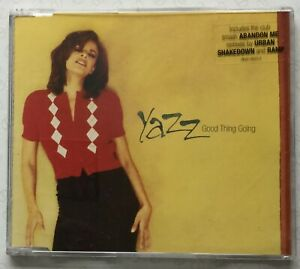 Good Thing Going by Yazz (1996, CD single, 3 tracks) near NEW. 'Abandon Me'.