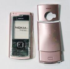 pink Housing Cover Case Fascia Faceplate facia for nokia n72