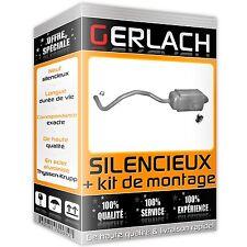 Renault Megane CC Scenic II 1.4i 16i 16V 1.5 dCi silencieux arriere *3788