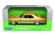 Welly 1965 Buick Rivirea Gran Deporte 1/24 Fundido Modelismo Coche Oro 24072