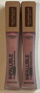 Loreal Infallible Pro Matte Liquid Lipstick, 842 Candy Man, 2 Pack