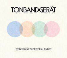 TONBANDGERÄT - WENN DAS FEUERWERK LANDET  (LTD.DELUXE EDT.)  CD + DVD NEW+