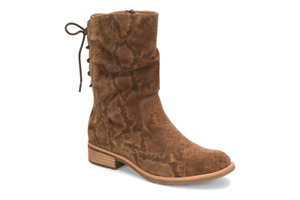 Sofft Sharnell Low Cognac Snake Print Women's