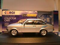 SUPERB NEW VANGUARDS 1/43 1980 FORD ESCORT MK2 1.6 HARRIER RHD  OUTSTANDING NLA
