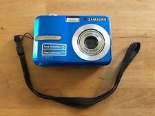 Samsung S860 8.1 MP Digital Camera - Blue, excellent condition
