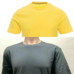 """Men's Summer Plain T-shirt 100% Cotton Short Sleeve  """"Summer Clearance Sale"""""""